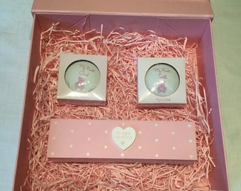 Handcrafted Keepsake Box with gifts