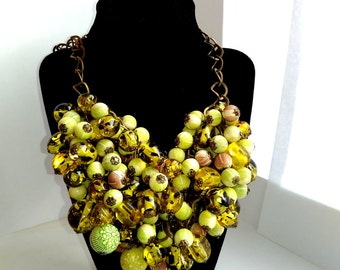 handmade necklace Green Day