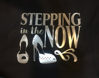 Stepping in the now