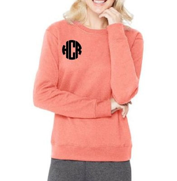 Monogram Crewneck Fleece Sweatshirt