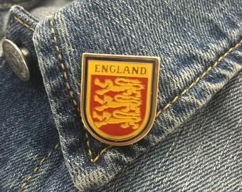 Vintage England Lapel Pin (stock# 127)