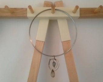 Agate Circular Necklace
