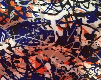 Paint Splatter Scrunchy