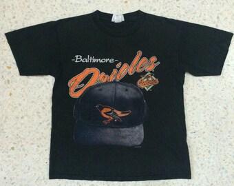 Rare Vintage 90s Baltimore Orioles 1996s MLB t-shirt