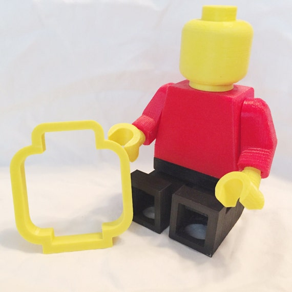 3D Printed Lego Minifigure Cookie Cutter