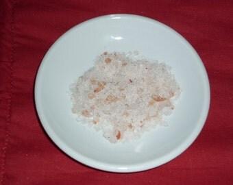 Incense salt Himalayan - Protection, Purification, Ceremonies, clearance pink