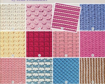 101 Stitches for Afghans ~ 101 Stitch Patterns for Any Yarn crochet patterns
