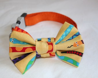 Snake Dog Bow Tie