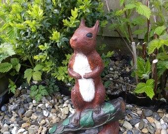 Squirrel Squlpture