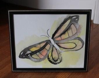Monarch Butterfly Watercolor