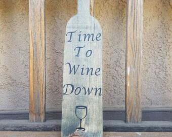 Wine bottle shape decor. Wine bottle shape signs. Wine decor. Wine home decor. Bar decor. Wine bottle decor. Wooden signs. Wooden sign