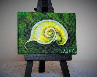 Tiny Calla- lilly painting