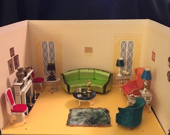 Ideal Petite Princess 1964 Dollhouse Furniture Living Room