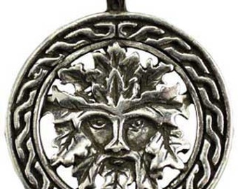 Celtic Greenman Amulet