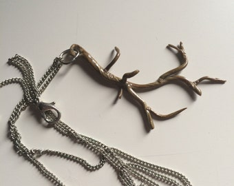 Tree of life branch necklace