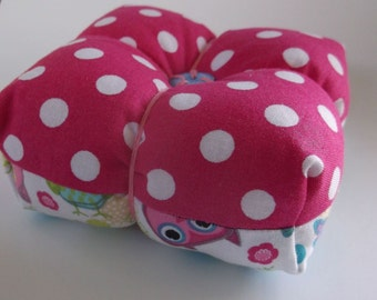 Square Pincushion, Pincushion, Small Pincushion, Button Pincushion