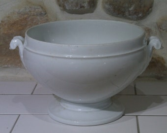 French China Soup Tureen