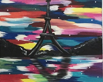 Canvas 18, Eifel Tower I