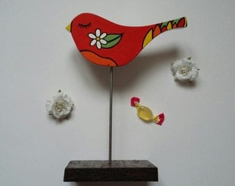 Bird flower