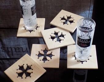 Coaster Occitan cross ash