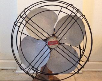 Vintage Spartan Fan/oscillating 3 speed/ Heavy Duty Industrial fan