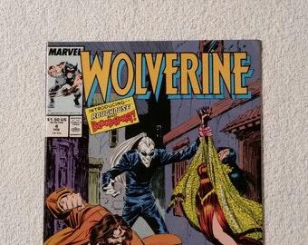 NM!  Wolverine #4 (1988)