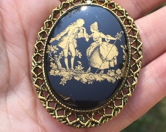 Vintage Brooch Vintage pin Vintage Jewelry Vintage Collection Gift for Mother Gift for Grandmother