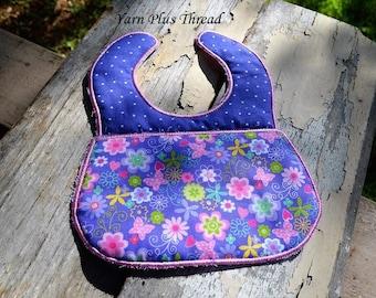 ITH Baby Bib Embroidery Design