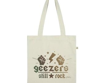 Geezers Still Rock Tote Bag