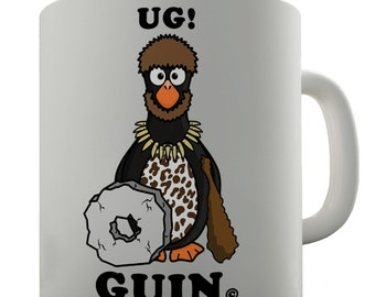 Ug Guin Funny Penguin Ceramic Funny Mug