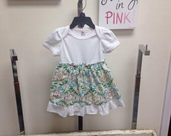 Onesie dress for girls 12-18 months