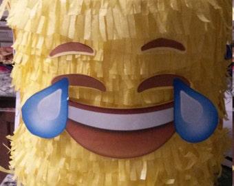 Lego Emoji Head Brick Piñata. Handmade. New