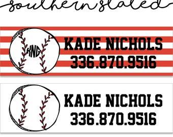 Sports Equipment Labels