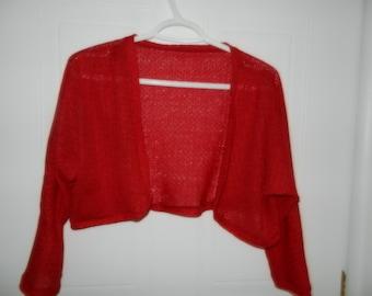 Bolero red (or white) women - XL