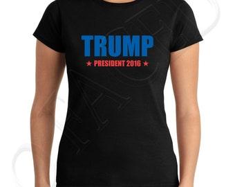 Trump President 2016 Junior Fit T Shirts Trump President 2016 Juniors T Shirt Republican Election