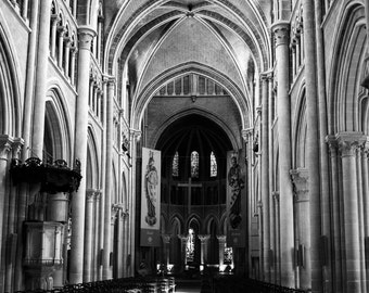 Black and White Cathedral