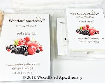 Soy Wax Melts - Wild Berries