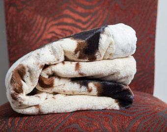 Monogram Baby Boy Blanket