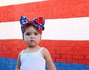 Amercian Beauty Headwrap