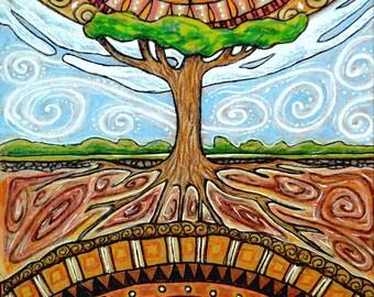 World Tree, Tree of Life Sticker