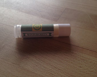 Wintergreen Lip Balm