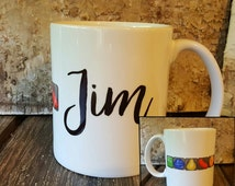 Personalized Candy Crush Lover Mug, Unique gift for friend, Personalized Mug, Personalized Coffee Mug, Unique Coffee Gift, Unique gift