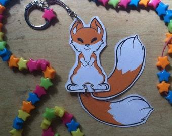 Kitsune Fox Keychain