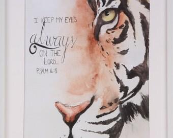 Tiger's Eye 9x12 Print