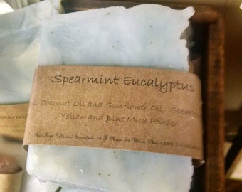 Spearmint Eucalyptus Natural Soap