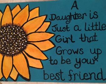Sunflower daughter