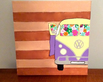 VW Color Bus