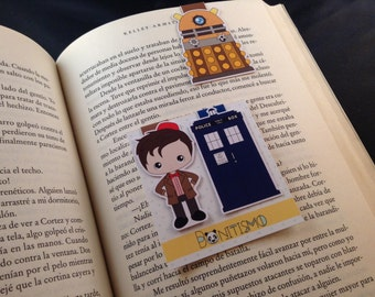 Magnetic Bookmark - Dr Who