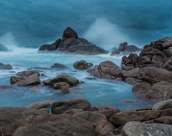 Canal Rocks (Matte print)