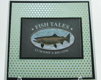 Fish Tales Birthday Card